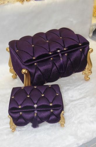 Purple Household Accessories 01002-02