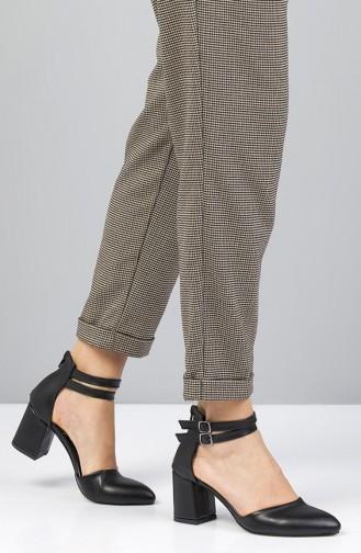 Black Heeled Shoes 11406
