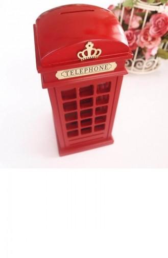 Buffer İngiliz Telefon Kulübesi Metal Kumbara 69YT0509
