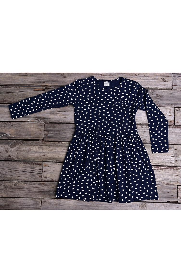 dunkelblau kinder und baby-kleider 133-1