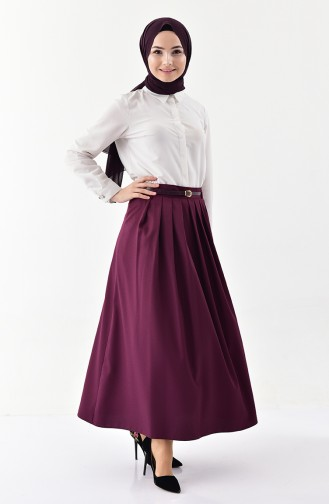 Belt Skirt 0401-03 Purple 0401-03