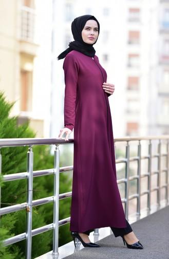 Damson Abaya 2129-05
