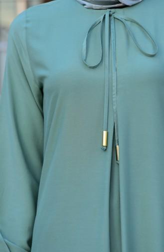 Green İslamitische Jurk 4536-09