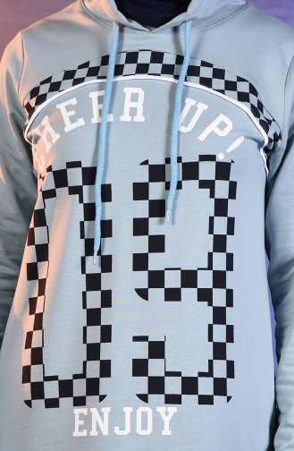 BWEST Printed Tracksuit 8388-01 ice Blue 8388-01