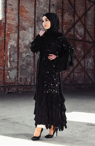 Black Abaya 35900-01