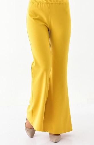 DURAN Spanish Leg Pants 2301-02 Mustard 2301-02