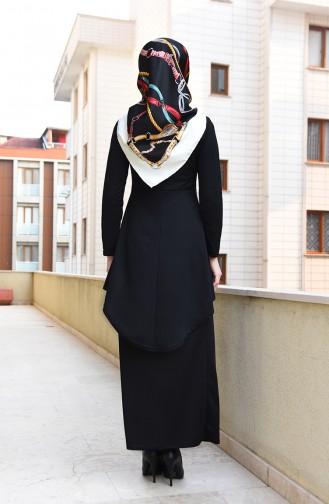 Schwarz Anzüge 2727-02