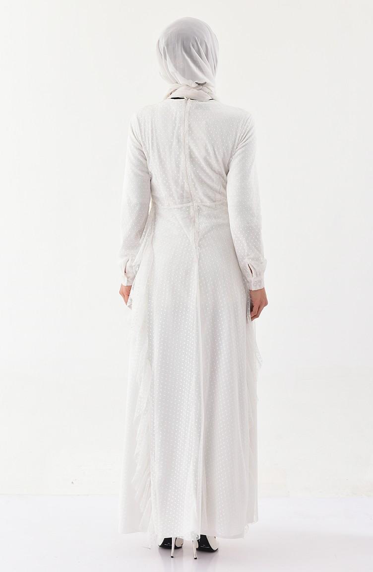 a402638ee1e Frilly Dress 4268-02 light Beige 4268-02