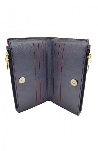 Women´s Wallet DVP14-04 Navy 14-04