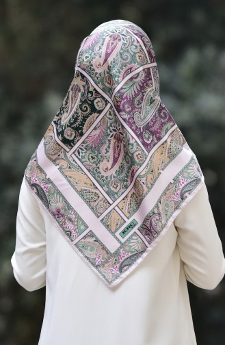 Karaca Patterned Rayon Shawl 90570-02 light Powder Green 90570-02