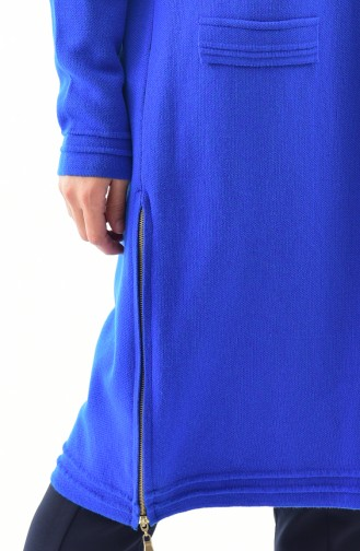 Knitwear Pocket Detailed Cardigan 17707-04 Saks 17707-04
