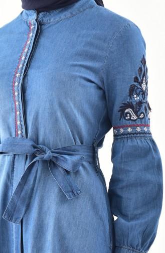 Kap Pantolon ikili Takım 9030-02 Kot Mavi 9030-02