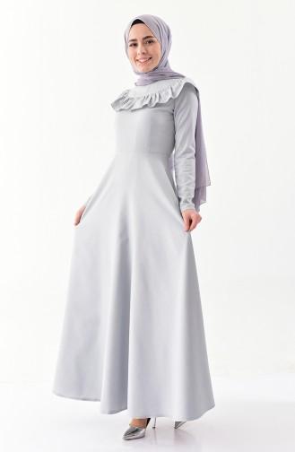 Robe Hijab Gris 7203-08