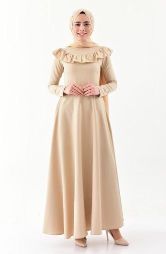 Robe Hijab Beige 7203-09