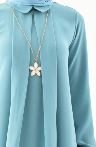 Necklace Tunic 4059-06 Almond Green 4059-06