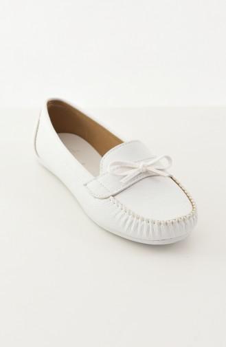 Bayan Babet 100-03 Beyaz