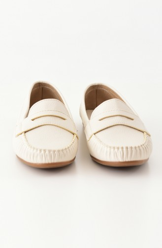 حذاء مُسطح باليرينا 101-02 لون بيج 101-02