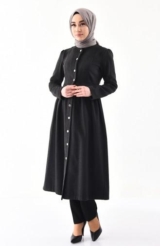 Light Black Abaya 6085-03