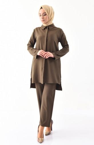 Tunic Pants Binary Suit  5243-02 Khaki 5243-02