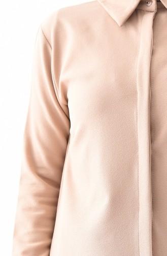 Tunik Pantolon İkili Takım 5243-04 Bej