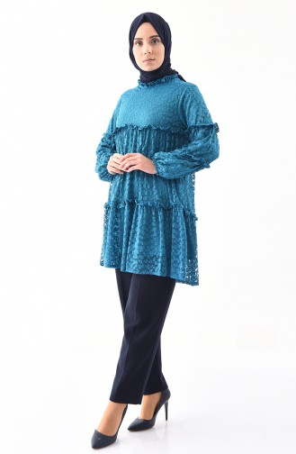 Oil Blue Tunic 2354-04