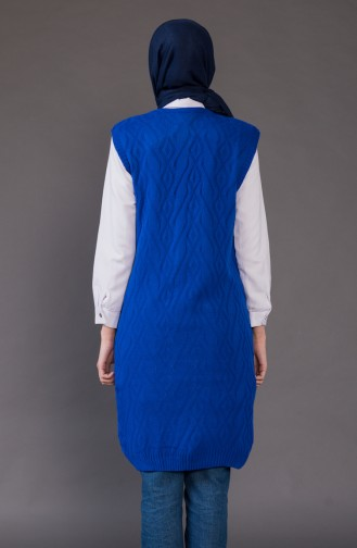 Knitwear Pocket Vest 8110-07 Saks 8110-07