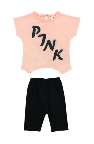 Baby Boy Pink Detail 2 Pcs Set A9584 Pink 9584