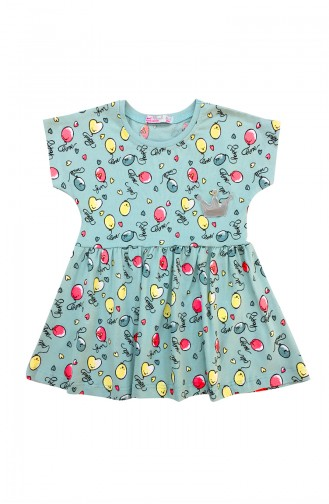 Blue Baby and Kids Dress 9607