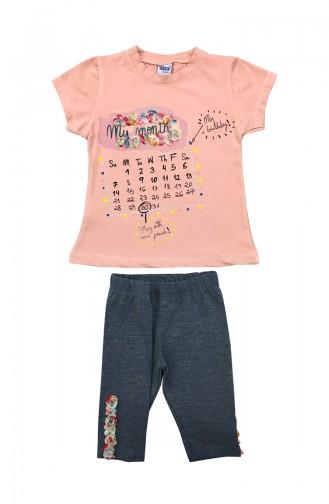 Baby My Birthday Detail 2 Pcs Set A9652 Pink 9652