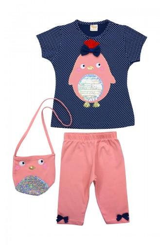 Navy Blue Baby & Kid Suit 9653