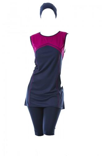 ملابس السباحة أزرق كحلي 0303-01