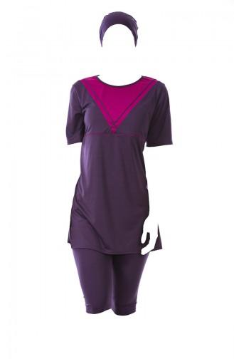 Damson Swimsuit Hijab 0317-02