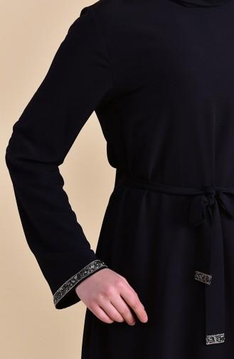 ELIFSU Stone Belted Tunic 1283-03 Black 1283-03