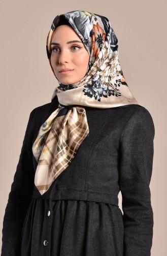Karaca Patterned Rayon Shawl 90569-09 Black 90569-09