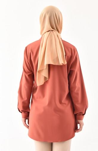 METEX Large Size Stone Printed Shirt 1120-02 Onion Shell 1120-02