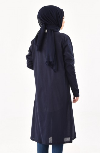 Navy Blue Vest 7797-01
