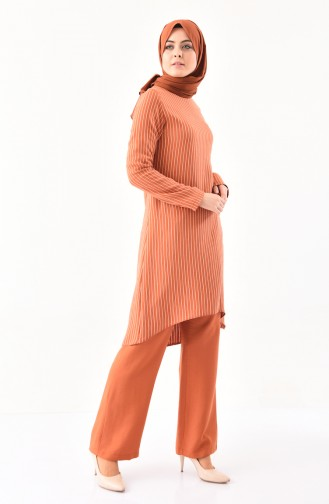 BURUN   Striped Tunic Trousers Double Suit 11179-01 Tile 11179-01