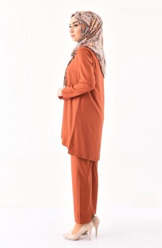 iLMEK Tunic Pants Double Suit 5247-07 Tile 5247-07