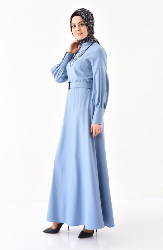 Belted Dress  2023-03 Ice Blue 2023-03