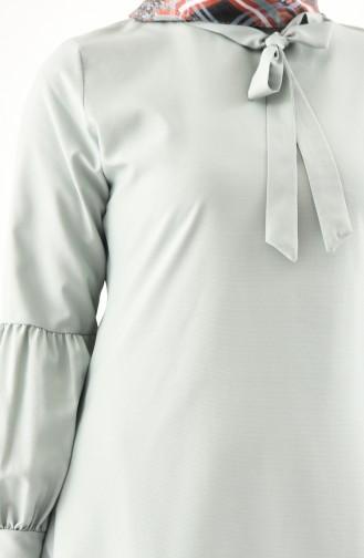 Krawatten Kragen Tunika 3042-06 Wassergrün 3042-06