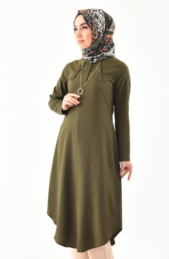 Necklace Tunic 3043-04 Green 3043-04