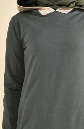 Garnili Eşofman Takım 8398-04 Haki Yeşil 8398-04