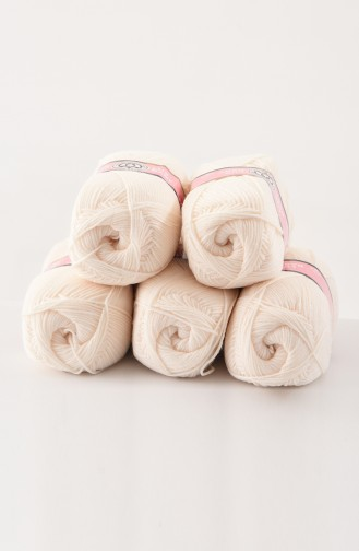 Textiles Women´s Lux Baby Yarn 3010-004 Cream 3010-004