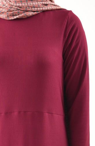 Tunik Pantolon İkili Takım 0303-01 Mürdüm 0303-01