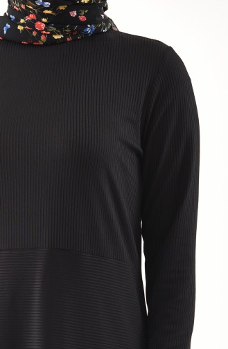 Tunik Pantolon İkili Takım 0303-03 Siyah 0303-03