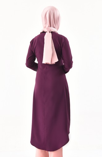 Necklace Tunic 3043-03 Purple 3043-03