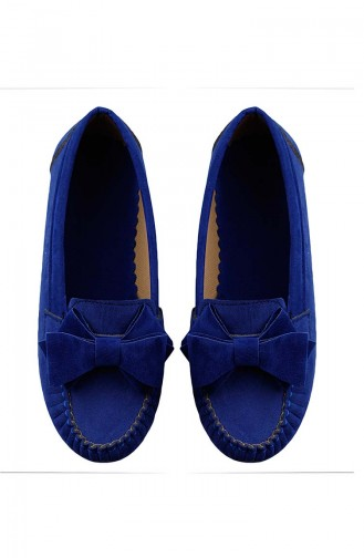 Saxon blue Woman Flat Shoe 0104-21