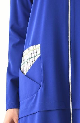ZEN Pocket Detailed Tunic 0215-01 Saks 0215-01