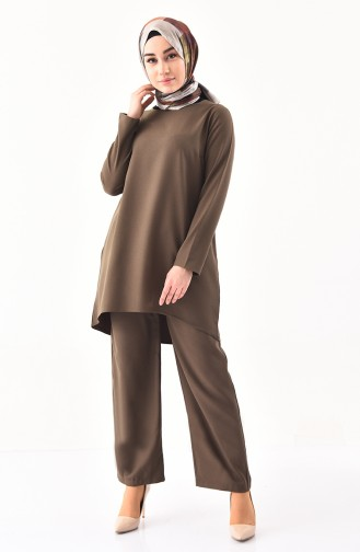iLMEK Tunic Pants Double Suit 5247-01 Khaki 5247-01