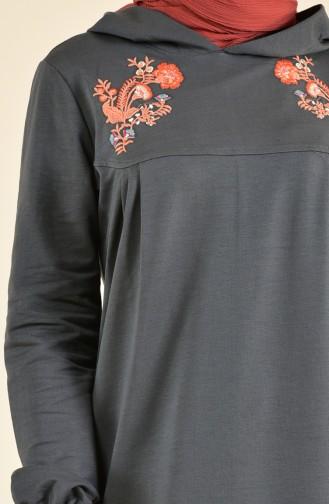 Nakışlı Spor Elbise 8358-06 Haki